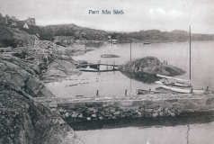 Strandpromenaden Särö. Bild 10754.