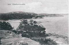 Strandpromenaden Särö. Bild 10771.