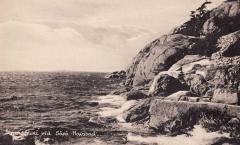 Strandpromenaden Särö. Bild 10786.