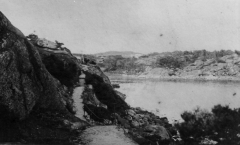 Strandpromenaden Särö. Bild 10787.