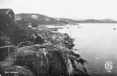 Strandpromenaden Särö. Bild 10801.