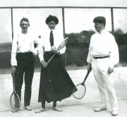 Tennis Särö. Bild 1419.