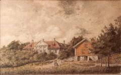 Särö säteri. Bild 1206.