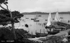 Båtbryggan Särö. Bild 10181.