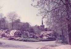 Ombyggnad av paviljongerna Särö. Bild 11753.