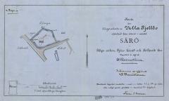 Tomtkarta Särö. Bild 9313.