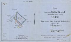 Tomtkarta Särö. Bild 9314.