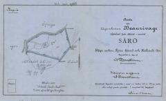 Tomtkarta Särö. Bild 9317.