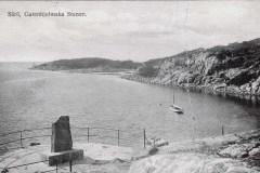 Vykort Särö. Bild 40083.