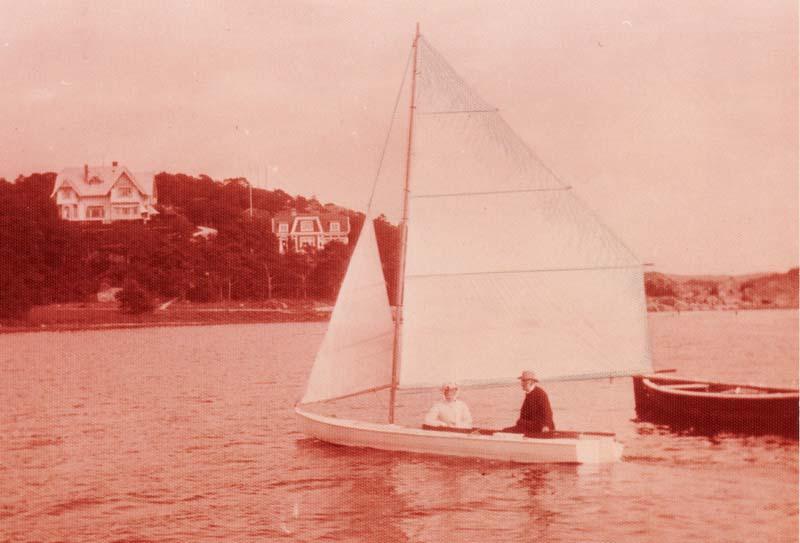 Segling Särö centerbordsbåt