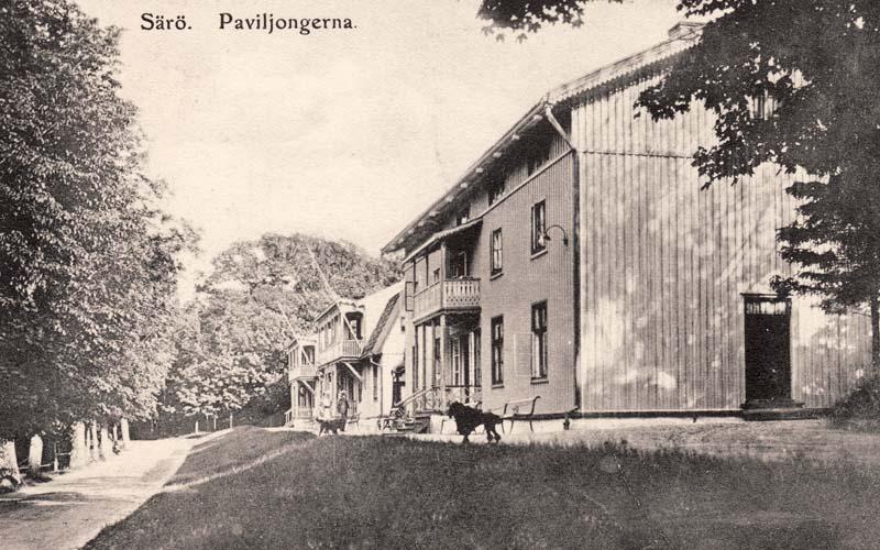 Paviljongerna i Särö.