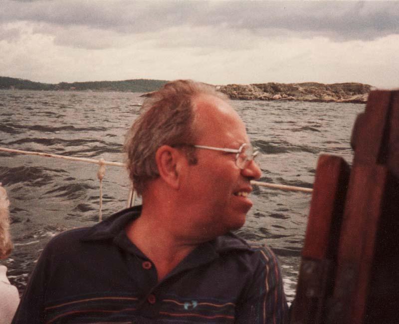 Bruno Carlström, en av personerna bakom målarkuppen mot Säröbanan 1952.