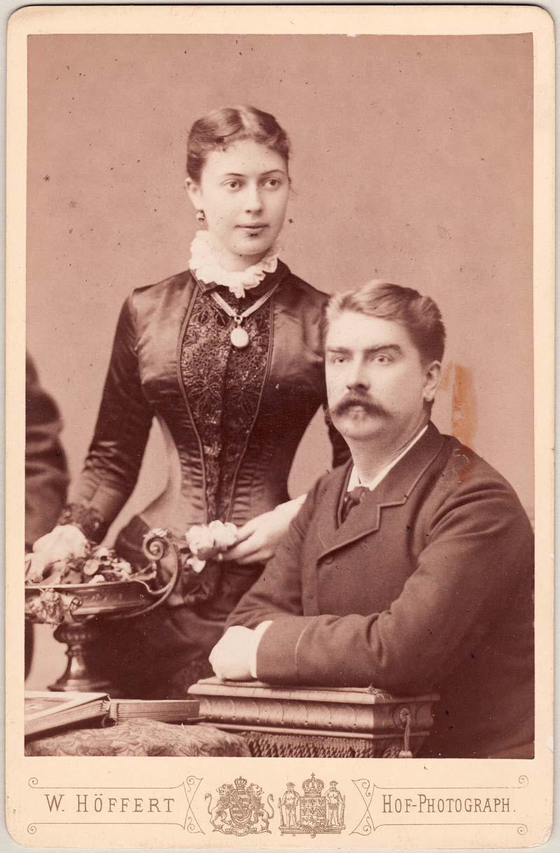 Ragnhild och Axel Jonsson sr, Särö
