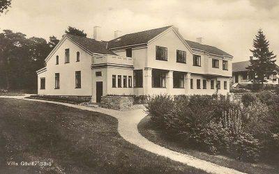 Kungligheter och celebriteter gästar Villa Gövik på Särö
