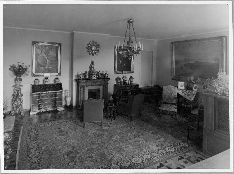 Villa Gövik Särö, stora salongen