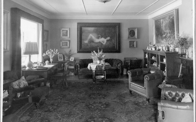 Inredningen på Särös Villa Gövik