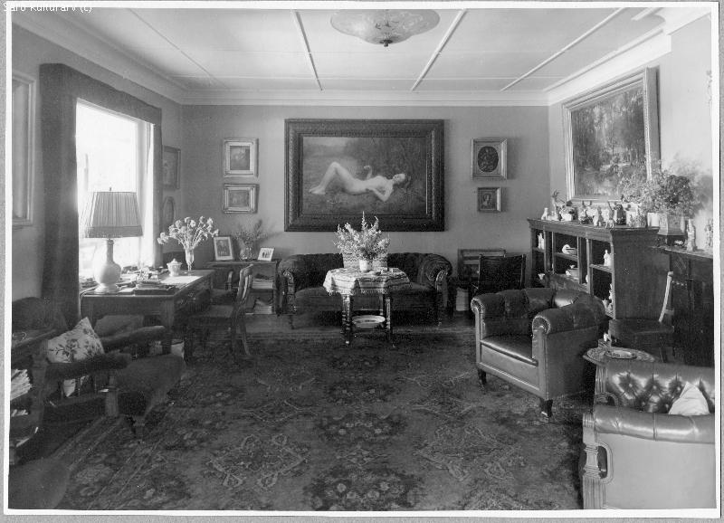 Villa Gövik Särö, lilla salongen